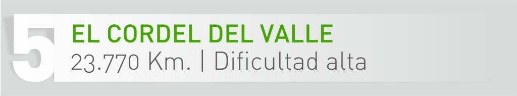 5 EL CORDEL DEL VALLE