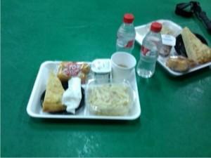 La cena que nos dieron en el 4º Punto de Control, Viilagonzalo